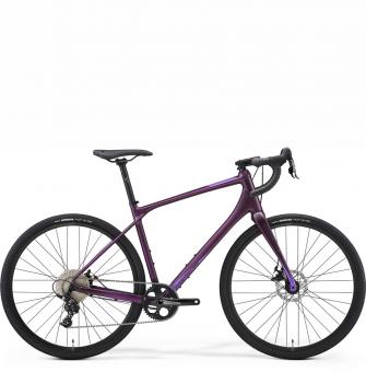 Велосипед гравел Merida Silex 300 (2021) Matt Dark Purple