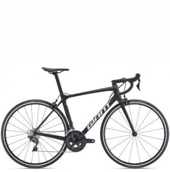 Велосипед Giant TCR Advanced 1 (2021) Matte Carbon/Gloss Unicorn White