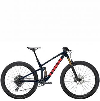 Велосипед Trek Top Fuel 9.9 X01 (2021) Carbon Blue Smoke