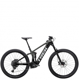 Электровелосипед Trek Rail 9.7 (2021) Lithium Grey/Trek Black