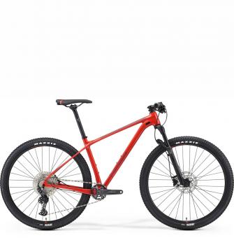 Велосипед Merida Big.Nine Limited (2021) GlossyRaseRed/MattRed