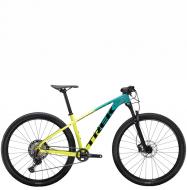 Велосипед Trek X-Caliber 9 (2021) Teal/Volt Fade