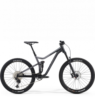 Велосипед Merida One-Forty 600 (2021) Silk Anthracite/Black