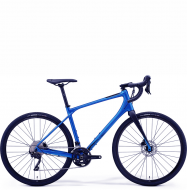 Велосипед гравел Merida Silex 400 (2021) Matt Blue (Black)