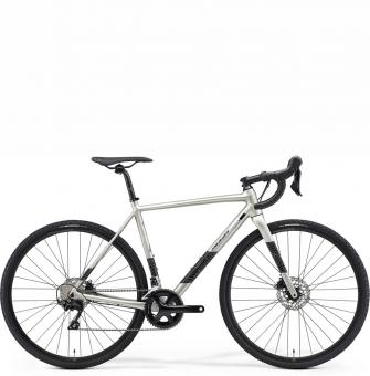 Велосипед циклокросс Merida Mission CX 400 (2021) Silk Titan (Black/Silver)