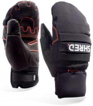 Варежки Shred ALL MTN PROTECTIVE MITTENS BLACK (2020)