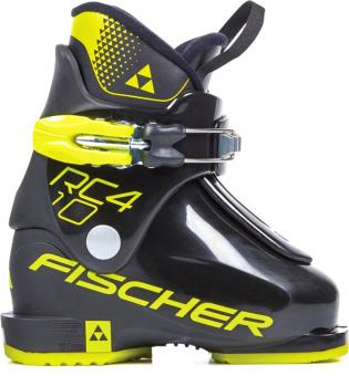 Горнолыжные ботинки Fischer RC4 10 Jr Black/Black (2021)