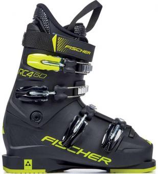 Ботинки горнолыжные Fischer RC4 60 Jr black/black (2021)