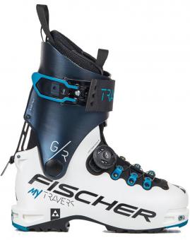 Горнолыжные ботинки Fischer My Travers Gr White/ Darkblue (2021)
