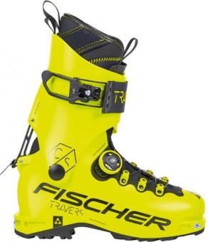 Горнолыжные ботинки Fischer Travers Cs Yellow/Yellow (2021)