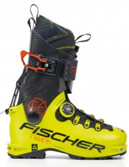Горнолыжные ботинки Fischer Travers Cc Yellow/Carbon (2021)