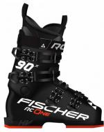 Горнолыжные ботинки Fischer RC ONE X 90 BLACK/BLACK/BLACK/Red (2021)