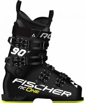 Горнолыжные ботинки Fischer RC ONE X 90 Black/Black/Black/Yellow (2021)