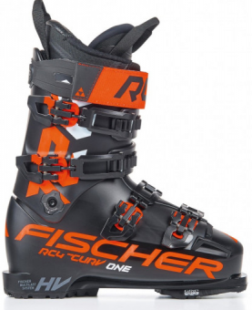 Горнолыжные ботинки Fischer Rc4 The Curv One 120 Vacuum Walk Black/Black (2021)