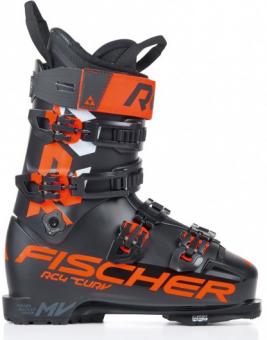 Горнолыжные ботинки Fischer Rc4 The Curv 120 Vacuum Walk Black/Black (2021)