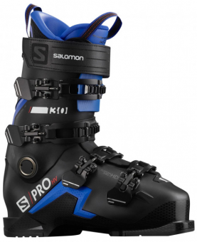 Горнолыжные ботинки Salomon S/PRO HV 130 black/race blue/red (2021)