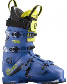 Горнолыжные ботинки Salomon S/PRO 130 Race b/black/acid (2021)