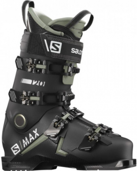 Горнолыжные ботинки Salomon S/Max 120 black/oil green/silver (2021)