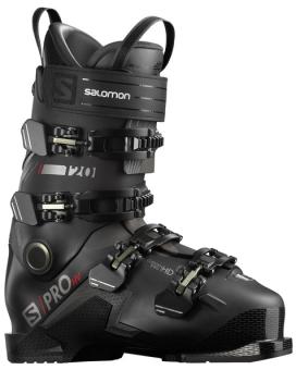 Горнолыжные ботинки Salomon S/Pro HV 120 Black/Red/Belluga (2021)