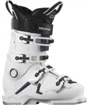 Горнолыжные ботинки Salomon S/MAX 100 W white/petrol blue/silver (2021)