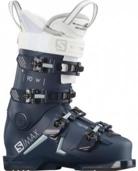 Горнолыжные ботинки Salomon S/Max 90 petrol blue/sterling blue/white (2021)