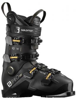 Горнолыжные ботинки Salomon S/PRO HV 90 W black/belluga/golden glaw (2021)