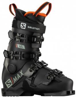 Горнолыжные ботинки Salomon S/Max 65 jet black/red (2021)