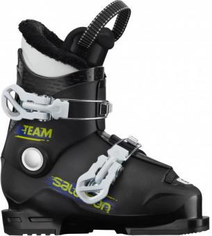 Горнолыжные ботинки Salomon Team T2 black/white (2021)