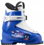 Горнолыжные ботинки Salomon T1 race blue/white (2021)