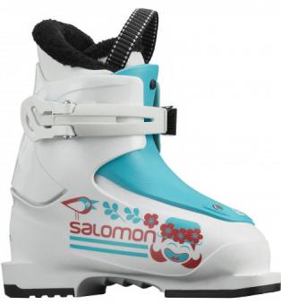 Salomon T1 Girly white/scuba blue