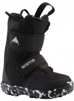 Ботинки для сноуборда Burton Mini Grom Black Kids (2021)