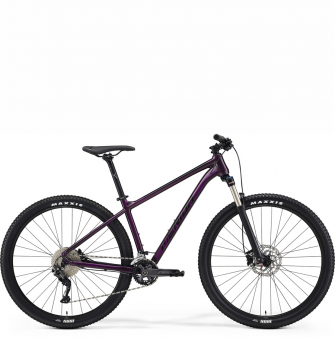 Велосипед Merida Big.Nine 300 (2021) Dark Purple (Black)