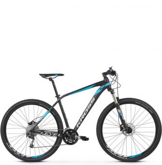 Велосипед Kross Level 4.0 (2021) Сzarny/niebieski/srebrny mat