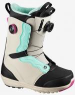 Ботинки для сноуборда Salomon Ivy Boa SJ (2021) Rainy Day/black/aruba blue