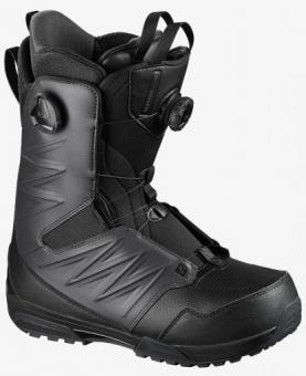 Ботинки для сноуборда Salomon Synapse Focus Boa (2021) Black/asphalt/Black