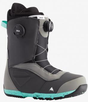 Ботинки для сноуборда Burton Ruler Boa (2021) Gray/teal