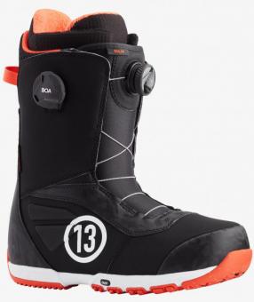 Ботинки для сноуборда Burton Ruler Boa (2021) Black/red