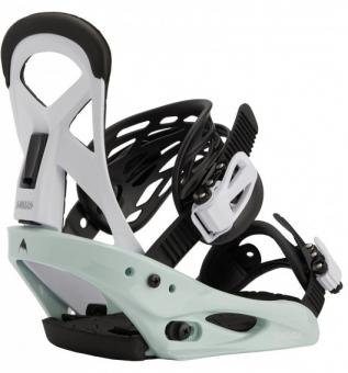 Крепления для сноуборда Burton Smalls neo-mint/white (2021)