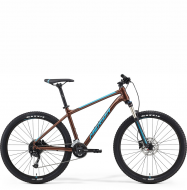 Велосипед Merida Big.Seven 100-2x (2021) Bronze/Blue