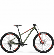 Велосипед Merida Big.Trail 600 (2021) MattGreen/Red/Silver-Green
