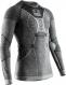 Термобелье X-Bionic кофта Apani 4.0 Merino Shirt Round Neck LG SL Men Black/Grey/White 1