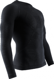 Термобелье X-Bionic кофта Apani 4.0 Merino Shirt Round Neck LG SL Men Black/Black
