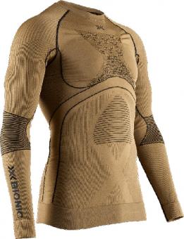 Термобелье X-Bionic кофта Radiactor 4.0 L/S Men Gold/Black
