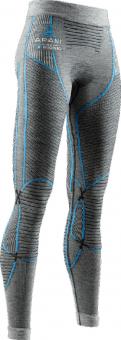 Термобелье X-Bionic штаны Apani 4.0 Merino Pants WMN Black/Grey/Turquoise