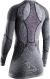 Термобелье X-Bionic кофта Apani 4.0 Merino Shirt Round Neck LG SL WMN Black/Grey/Pink 1