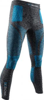 Термобелье X-Bionic штаны Energy Accumulator 4.0 Melange Dark Grey Melange/Blue