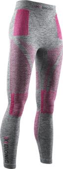 Термобелье X-Bionic штаны Energy Accumulator 4.0 WMN Grey Melange/Pink