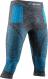 Термобелье X-Bionic штаны Energy Accumulator 4.0 3/4 Melange Dark Grey Melange/Blue 1