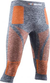 Термобелье X-Bionic штаны Energy Accumulator 4.0 3/4 Melange Grey Melange/Orange