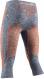 Термобелье X-Bionic штаны Energy Accumulator 4.0 3/4 Melange Grey Melange/Orange 1